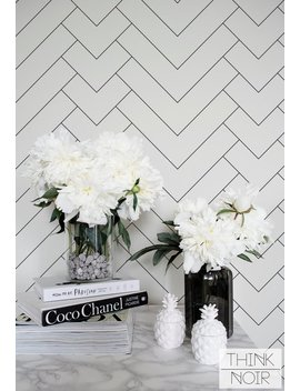 Minimalistic Geometric Pattern Regular Wallpaper / Simple Removable Wallpaper / Geometric Wall Mural / Geometric Wallpaper by Etsy