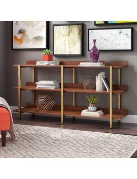 Rexdale Standard Bookcase by Mercury Row