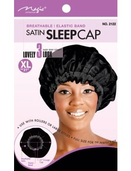 """Magic Collection Breathable Stain Sleep Cap Xl 21"""" No 2122 by Magic Collection"""