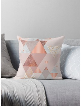 Blush Pink Geo by Urban Epiphany