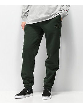 Champion Super Fleece 2.0 Spruce Green Sweatpants by Champion