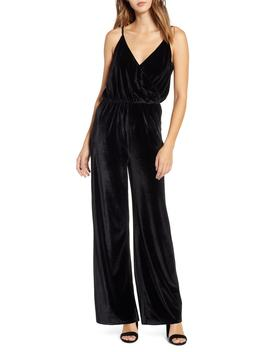 Velvet Jumpsuit by Lira Clothing