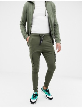 Only & Sons Slim Jogger With Combat Pockets by Only & Sons