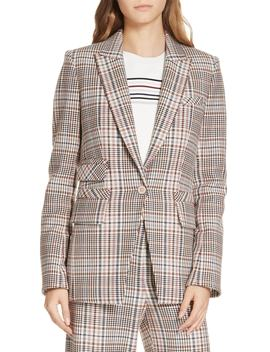 Fuller Houndstooth Dickey Jacket by Veronica Beard
