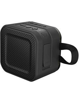 Skullcandy Barricade Mini Bluetooth Wireless Portable Speaker, Waterproof And Buoyant, Impact Resistant, 6 Hour Battery Life And 33 Foot Wireless Range, Black by Skullcandy