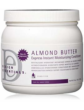 Design Essentials Almond Butter Express Instant Moisturizing Conditioner, 32 Ounce by Design Essentials