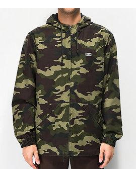 Obey Russett Field Camo Jacket by Obey