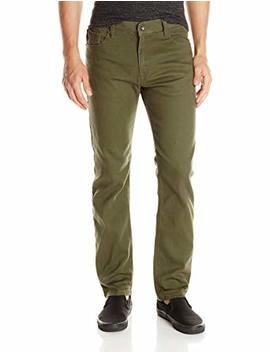 Southpole Men's Flex Stretch Basic Twill Rinse Denim Pants by Southpole