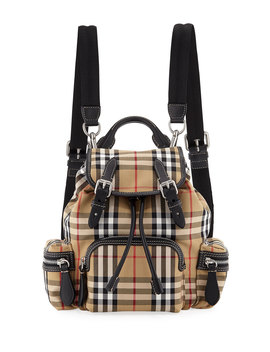Rucksack Small Vintage Sailing Canvas Backpack by Burberry