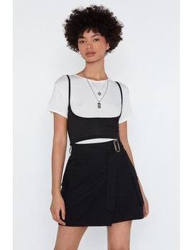 Keep It Brief Crop Top by Nasty Gal