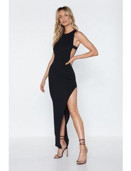 Leg First Maxi Dress by Nasty Gal