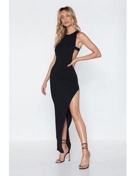 Leg First Maxi Dress by Nasty Gal