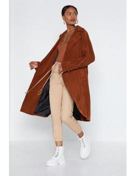 Cover Story Trench Coat by Nasty Gal