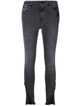 Le High Asymmetrische Skinny Jeans by Frame