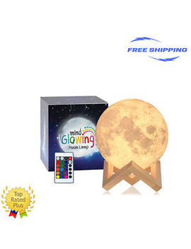 Mind Glowing Lamp Dimmable Rechargeable Lunar Night Light Full Set Touch Control by Mind Glowing