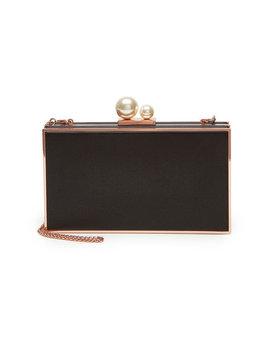Box Bag Clara Aus Satin by Sophia Webster