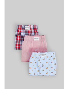 Pack 3 Boxers Esquilos by Springfield