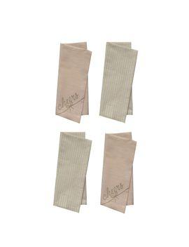 Lc Lauren Conrad Cheers & Yum Napkin 4 Pack by Kohl's