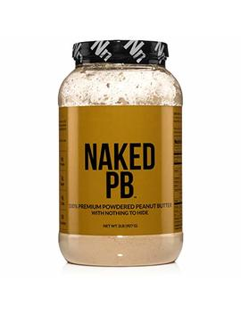2lbs Of 100 Percents Premium Powdered Peanut Butter From Us Farms – Bulk, Only Roasted Peanuts, Vegan, No Additives, Preservative Free, No Salt, No Sugar  ... by Naked Nutrition