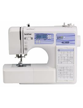 Brother Computerized Sewing And Quilting Machine, Hc1850, 130 Built In Stitches, 8 Presser Feet, Sewing Font, Wide Table, 850 Stitches Per Minute, Instructional Dvd, 25 Year Limited Warranty by Brother