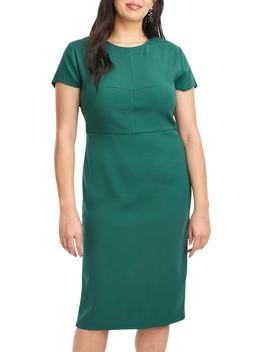 For J.Crew Stretch Twill Sheath Dress by Universal Standard
