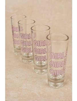 Ankit Girls Girls Girls Multi Shot Glass Set by Tobi