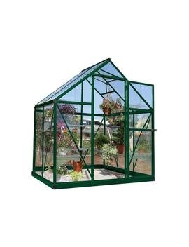 Harmony 6 Ft. X 4 Ft. Polycarbonate Greenhouse In Green by Palram