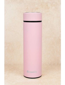 Bewaltz Pure Happiness Pink Stainless Steel Thermal Water Bottle by Tobi