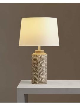 Lempa Su Cilindriniu DryŽuotu Stovu by Zara Home