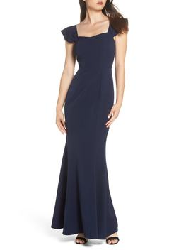 The Lucy Strapless Trumpet Gown by Wayf