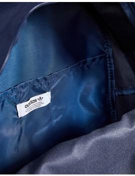 Adidas Originals Large Trefoil Logo Backpack In Navy Dj2171 by Adidas Originals