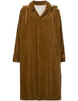 Hooded Corduroy Coat by 08 Sircus
