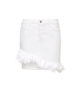 Karol Ruffle Denim Skirt by Sam Edelman