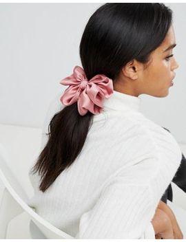 Asos Design – Haarreif Mit überdimensionierter Schleife In Rosa by Asos