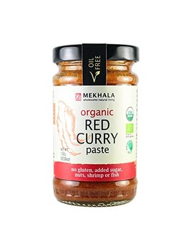 Mekhala Organic Gluten Free Thai Red Curry Paste 3.53oz by Mekhala