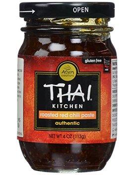 Thai Kitchen, Chili Paste, Roasted Red, 4 Oz by Thai Kitchen