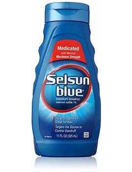 Selsun Blue Medicated Maximum Strength Dandruff Shampoo, 11 Ounce by Selsun Blue