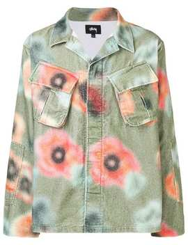 Velveteen Floral Shirt by Stussy