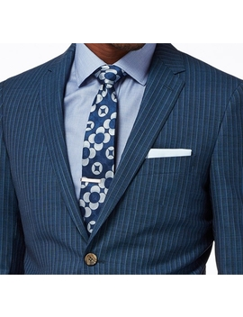 Navy Nailhead Pinstripe Suit by Indochino