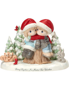 Ltd. Edition Together No Matter The Weather Couple Figurine by Precious Moments