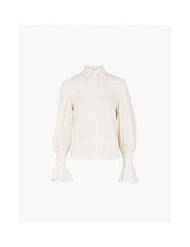 Checked Crepe Shirt by See By Chloe