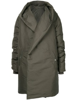 Sashed Hooded Liner Jacket by Rick Owens