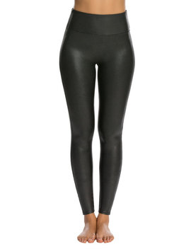 Faux Leather Leggings by Spanx