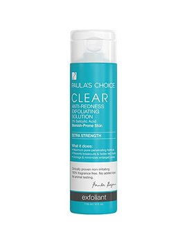 Paula's Choice Clear Extra Strength Anti Redness Exfoliating Solution With 2 Percents Bha Salicylic Acid, 4 Ounce Bottle Non Abrasive Face Exfoliator by Paula's Choice