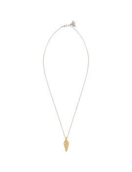 Silver Arrowhead Necklace by Sasquatchfabrix.