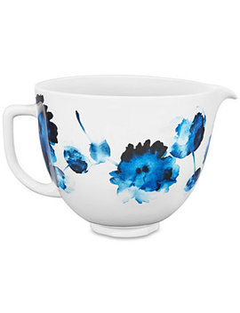 5 Qt. Floral Ceramic Bowl by Kitchen Aid