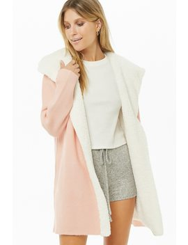 Faux Shearling Cardigan by Forever 21