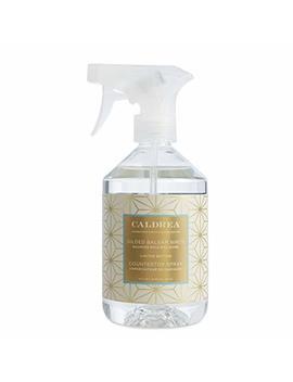 Caldrea Countertop Spray, Gilded Balsam Birch, 16 Ounce by Caldrea