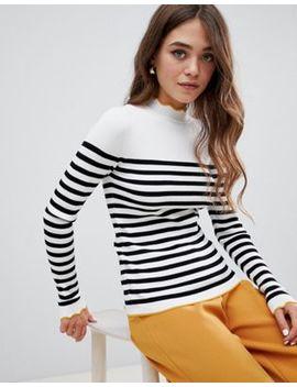 Pimkie – Gestreifter Pullover Mit Kontrastdetail by Asos De