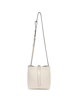 White Crossbody Frame Bag by Proenza Schouler